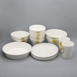 Bộ đồ ăn sứ màu - TSM 11005