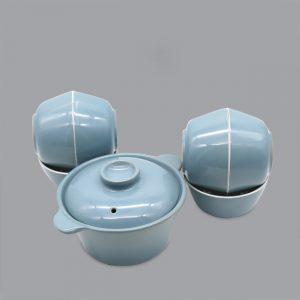 Bộ đồ ăn sứ màu - TSM 11004