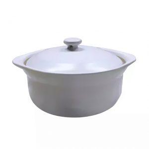 - Nồi và nắp bằng sứ, an toàn cho sức khỏe, không chì, cadimi và các hóa chất độc hại - Tỏa nhiệt điều, giữ nhiệt tốt. Tiết kiệm năng lượng và thời gian, làm tăng hương vị cho món ăn - Dùng kho, hầm, nấu cháo, hấp, luộc không cần nước. - Sử dụng được trên bếp gas, bếp hồng ngoại, bếp than, lò nướng, lò vi sóng. Không dùng trên bếp từ
